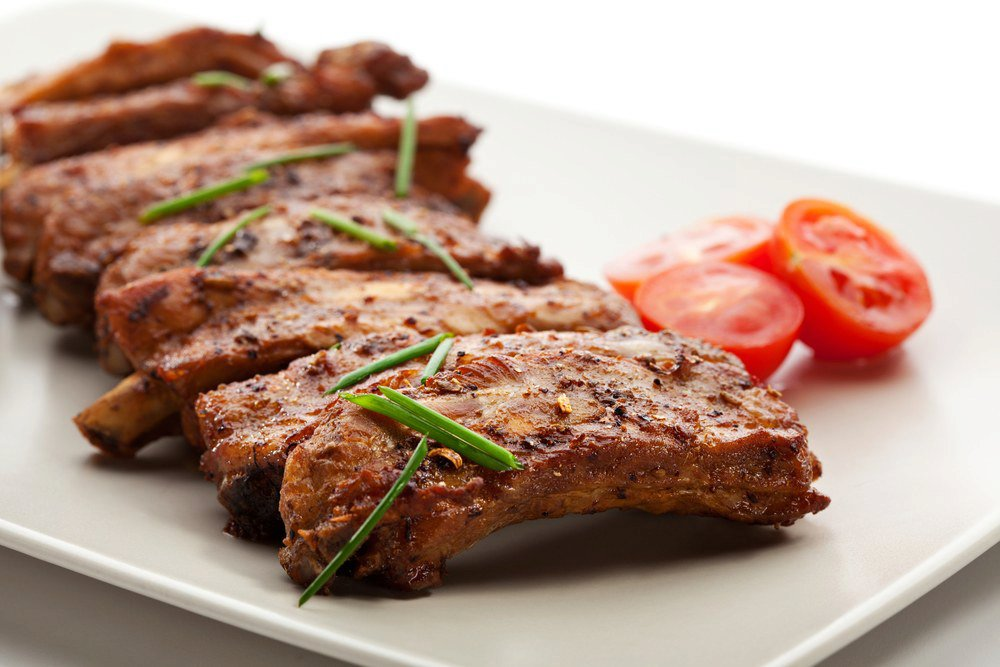 James Beard's Roasted Spareribs